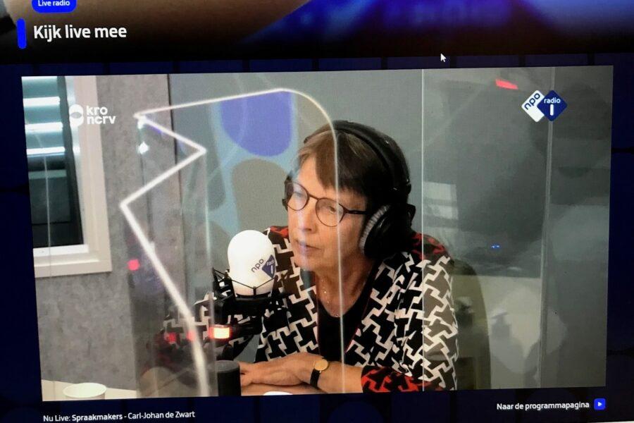 Jetta Klijnsma en Sanne Visser in Spraakmakers