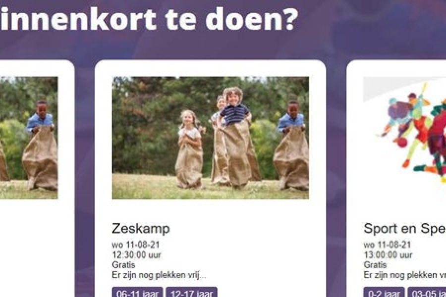 Nieuwe site Actief in Coevorden live